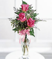 Triple Delight Rose Bouquet