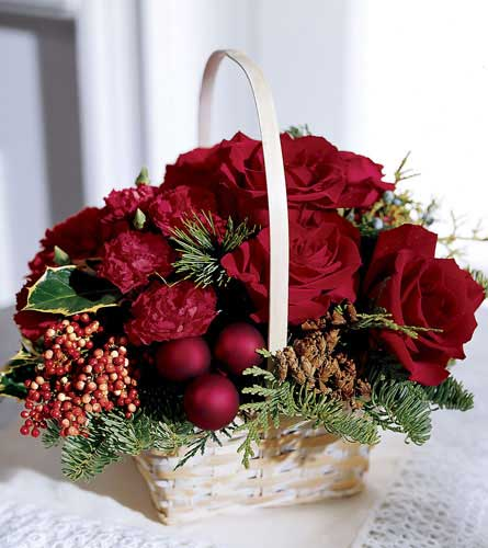 FTD's Holiday Garden Basket