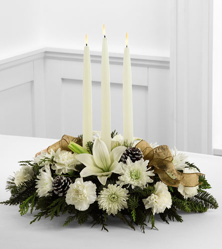 FTD's Glowing Elegance Centerpiece