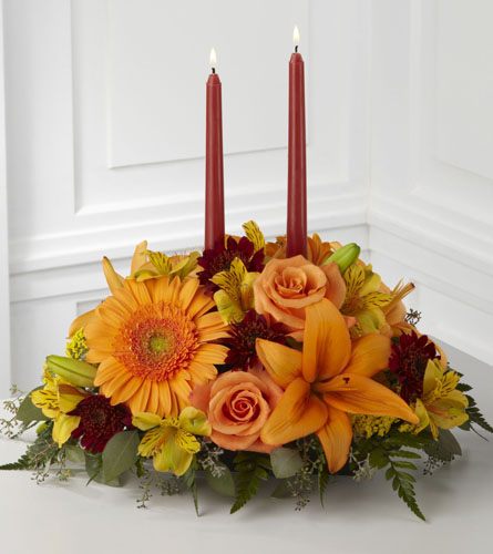 FTD's Bright Autumn Centerpiece